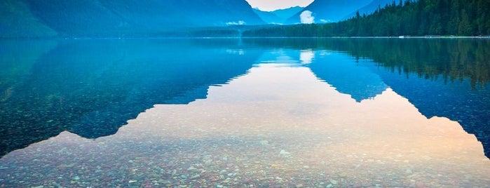Lake McDonald is one of Lieux sauvegardés par Robin.