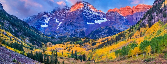 Maroon Bells Guide & Outfitters is one of The 10 Best Fall Hiking Trails in the U.S..