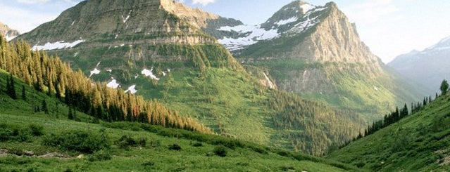 Glacier National Park is one of National Parks.