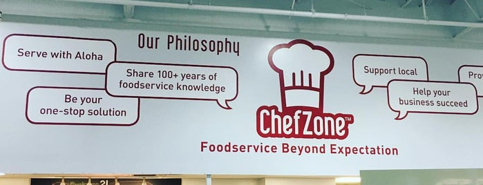 ChefZone is one of Lieux qui ont plu à Wailana.