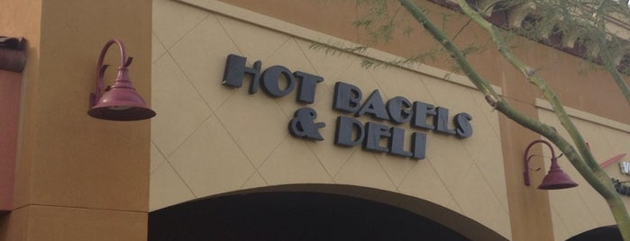 Hot Bagels and Deli is one of Phoenix.