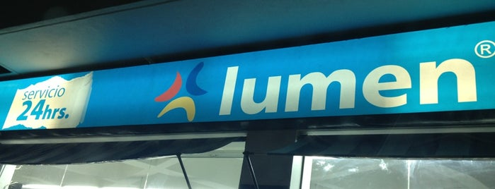Lumen is one of Locais curtidos por Lalo.