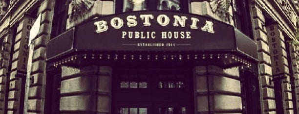 Bostonia Public House is one of Orte, die Drew gefallen.