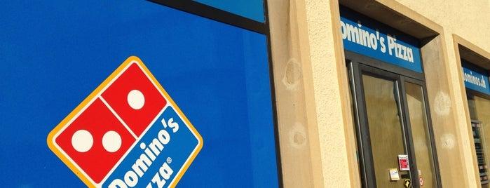Domino's Pizza is one of La vie en suisse.