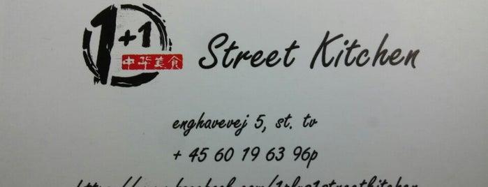1+1 Street Kitchen is one of Copenhagen.