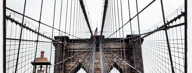 Brooklyn Bridge is one of New York: Where to Go.