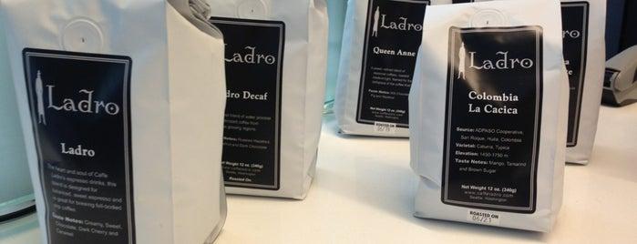 Caffe Ladro is one of Lieux qui ont plu à Carl.