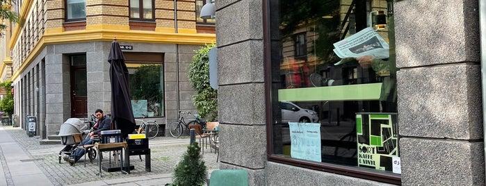 Sort Kaffe & Vinyl is one of Vesterbro, Copenhagen.