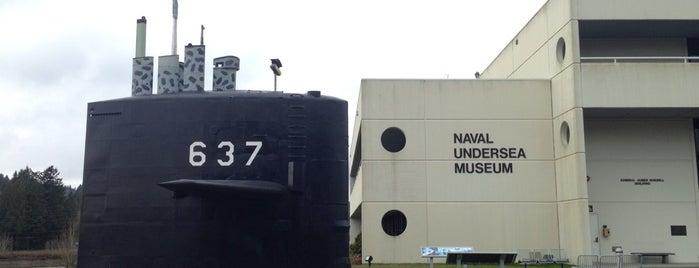 Naval Undersea Museum is one of Honeymoon.