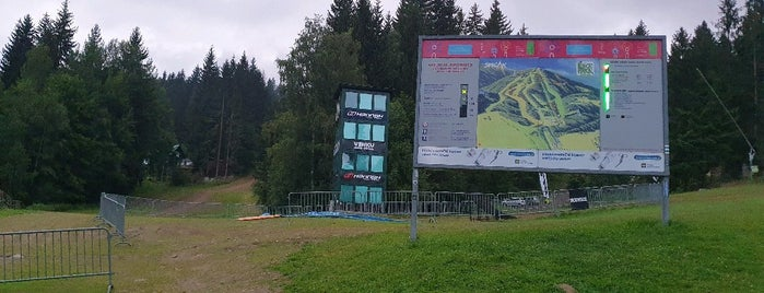Bikepark Špičák is one of MTB v Česku.