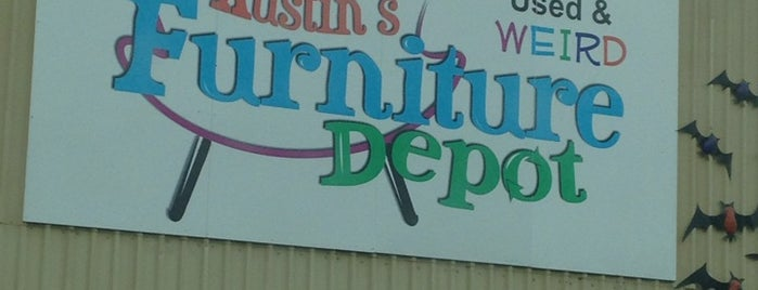 Austin's Furniture Depot is one of To Try.