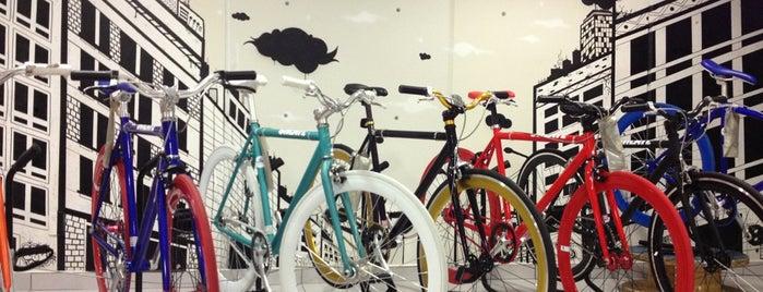 La bici urbana is one of Tempat yang Disimpan Oscar.