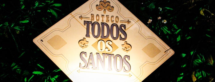 Boteco Todos os Santos is one of Fran : понравившиеся места.