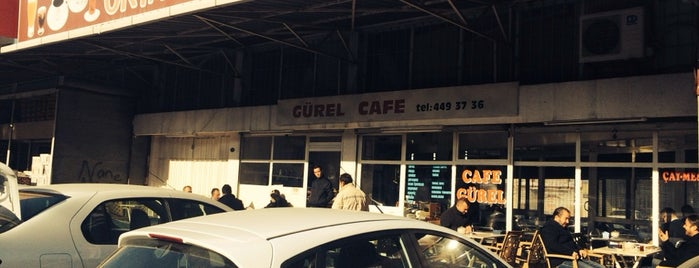 Cafe Gürel is one of FIRAT 님이 좋아한 장소.