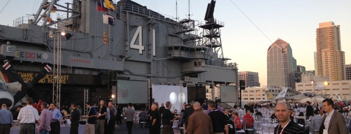 USS Midway Museum is one of Favorite Haunts Insane Diego.