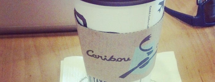 Caribou Coffee is one of Annieさんのお気に入りスポット.