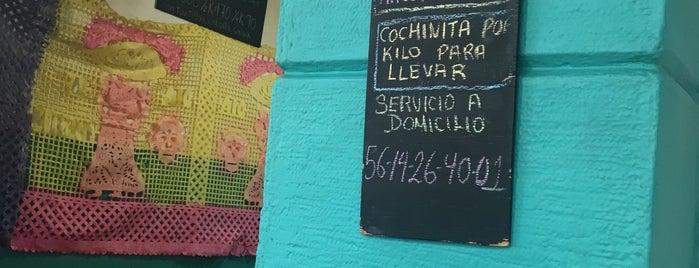Xnic Cochinita is one of สถานที่ที่ Fernanda ถูกใจ.