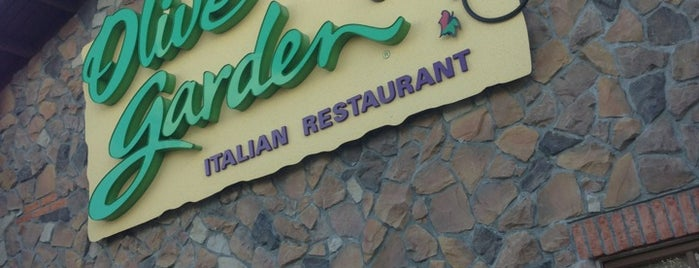 Olive Garden is one of Lugares favoritos de Nilson.