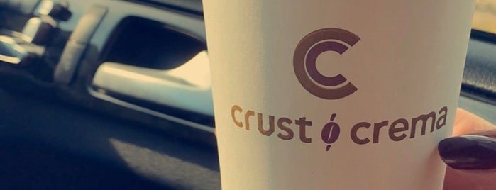 Crust & Crema is one of Gulf countries..