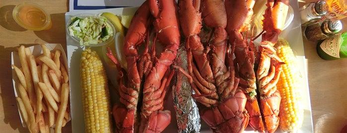 jordans lobster dock is one of Places visited.