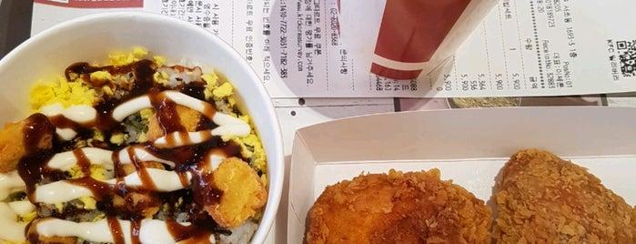 KFC is one of Sung Han : понравившиеся места.