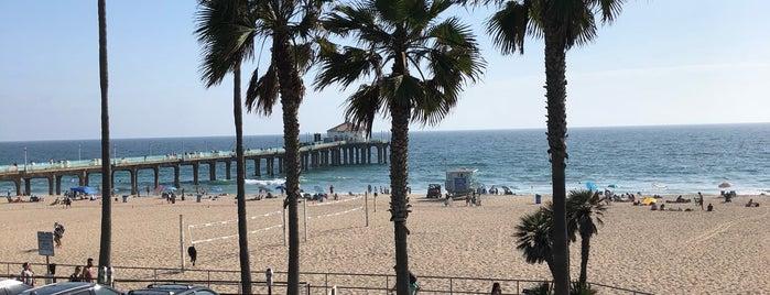 Manhattan Beach Pier To Hermosa Beach Pier Run is one of Posti che sono piaciuti a Matías.