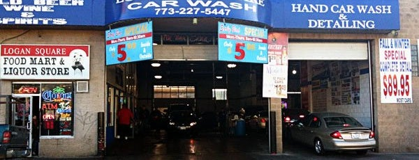 Logan Square Hand Car Wash & Detailing is one of Lugares favoritos de Danielle.