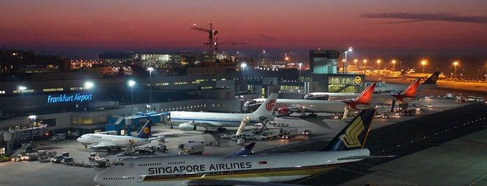 Frankfurt Havalimanı (FRA) is one of Seyahat.