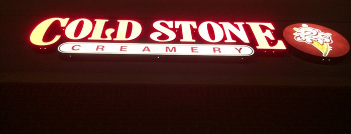 Cold Stone Creamery is one of Lieux qui ont plu à DaByrdman33.