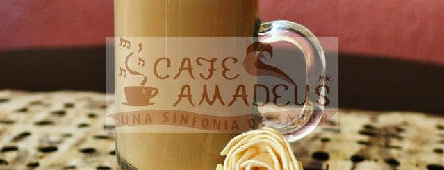Cafe Amadeus is one of Orte, die Stephania gefallen.