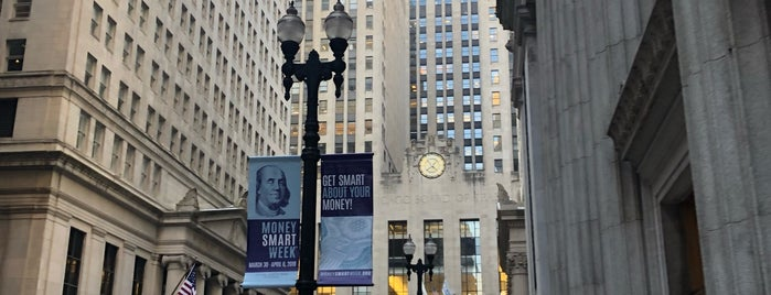 LaSalle Street Financial District is one of Route 66 Roadtrip.
