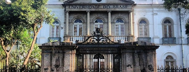 Universidade Federal do Rio de Janeiro (UFRJ) is one of Vanessaさんのお気に入りスポット.