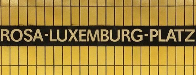 Rosa-Luxemburg-Platz is one of Berlin Moderna.