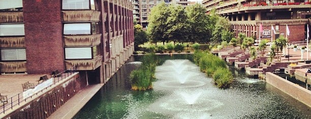 Barbican Centre is one of Funky London.