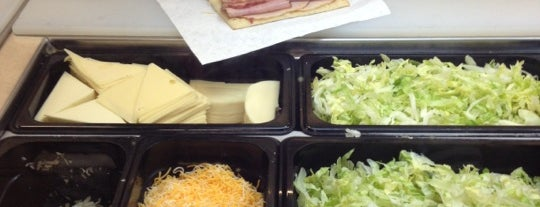 Subway is one of Lunchtime at MLB Advanced Media.