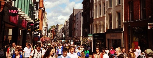 Grafton Street is one of Lieux qui ont plu à Can.