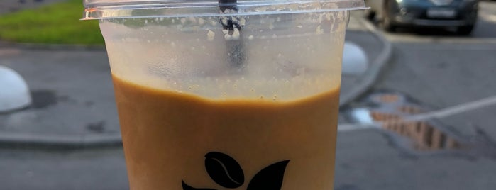 Правда кофе is one of Tempat yang Disukai Marina.