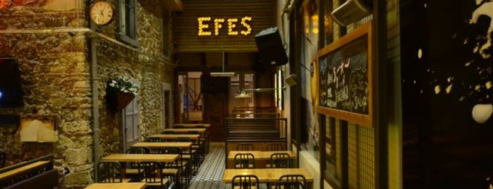 Sardunya Cafe & Bar is one of EGE.