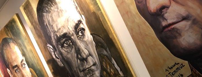 Çağdaş Sanatlar Galerisi is one of Eskisehir gidilecek.