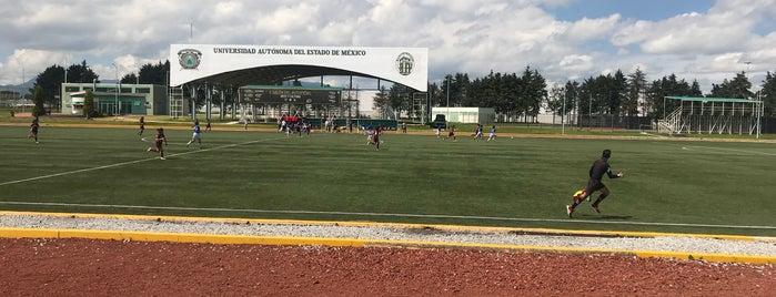 Unidad Deportiva UAEM is one of Orte, die Ely gefallen.