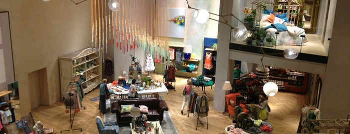 Anthropologie is one of NY bday party.