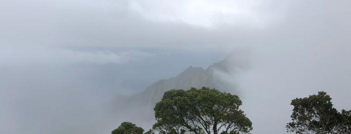Pu'u O Kila Lookout is one of Kauai.