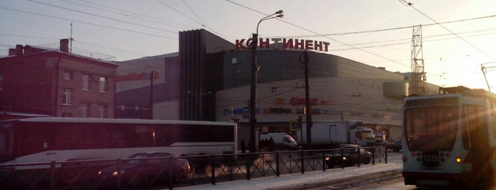 Continent Mall is one of TOP-100: Торговые центры Санкт-Петербурга.