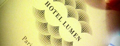 Hôtel Lumen Paris Louvre is one of 「 SAL 」さんのお気に入りスポット.