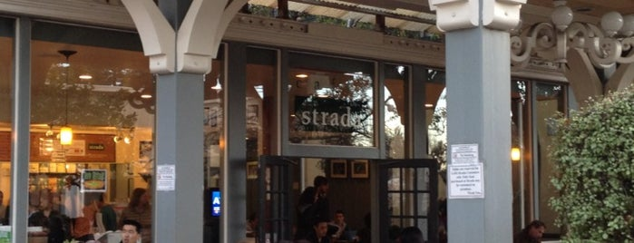Caffe Strada is one of California.