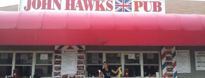 John Hawks Pub is one of Kat'ın Beğendiği Mekanlar.