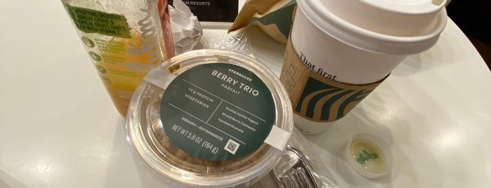 Starbucks is one of Vegas.