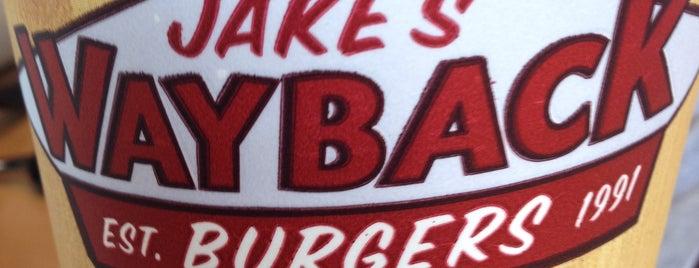 Jake's Wayback Burgers is one of Orte, die Enrique gefallen.