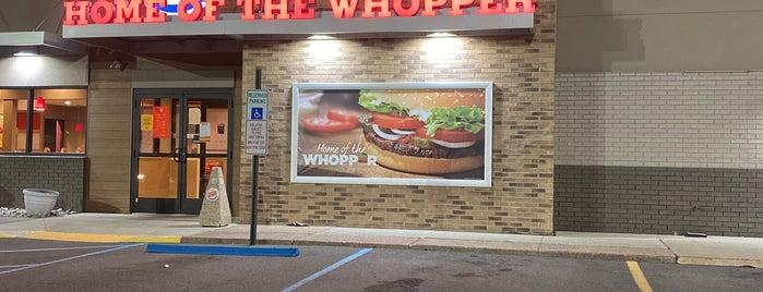 Burger King is one of สถานที่ที่บันทึกไว้ของ G.