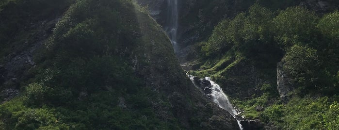 Поликаря вдп. / Polikarya waterfall is one of Stanislav : понравившиеся места.
